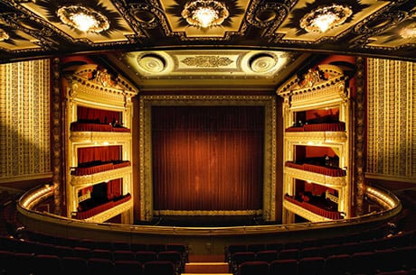 Stage View of The PrivateBank Theatre in Chicago, IL