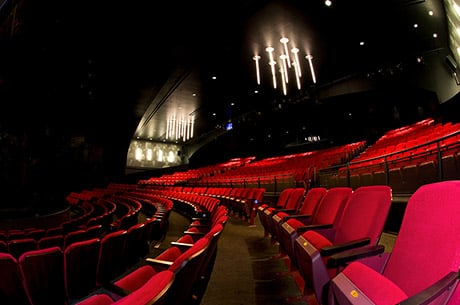 Interior view of the Broadway Playhouse in Chicago, IL